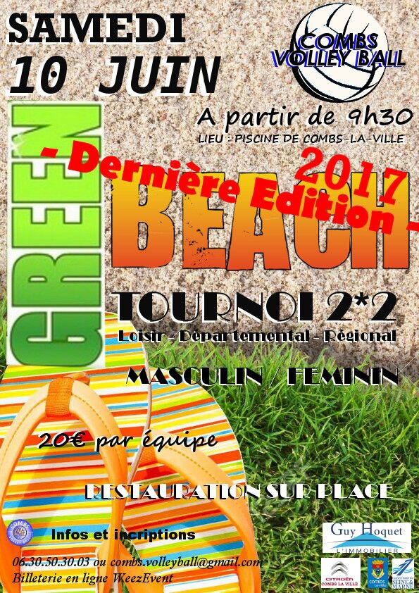 tournoi green-beach 2017