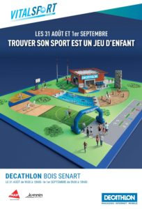 Vital sport Décathlon Bois Sénart